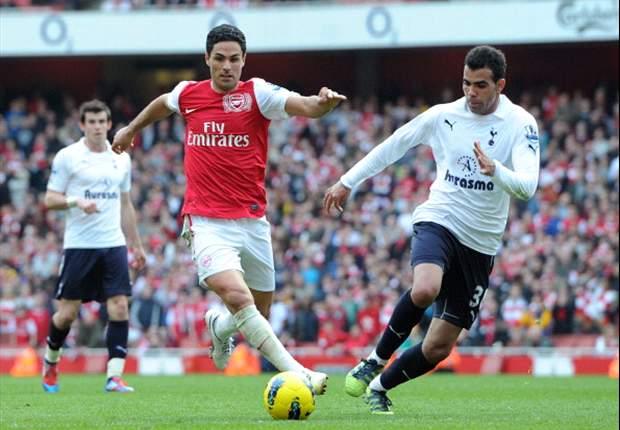Santi Cazorla y Mikel Arteta, titulares en el Arsenal-Tottenham