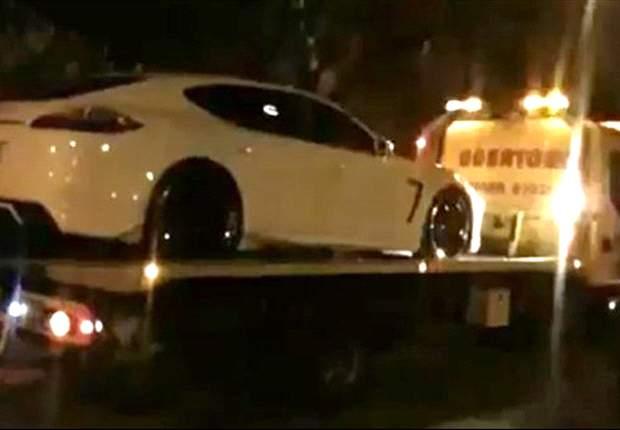 Carlos Tevez quedó a pie, le confiscaron el auto