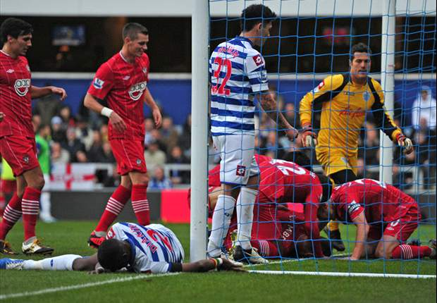QPR 1-3 Southampton: Hughes on the brink after dominant Saints leave hosts rock bottom