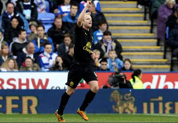 Reading 2-1 Everton: Paso atrás de los toffees