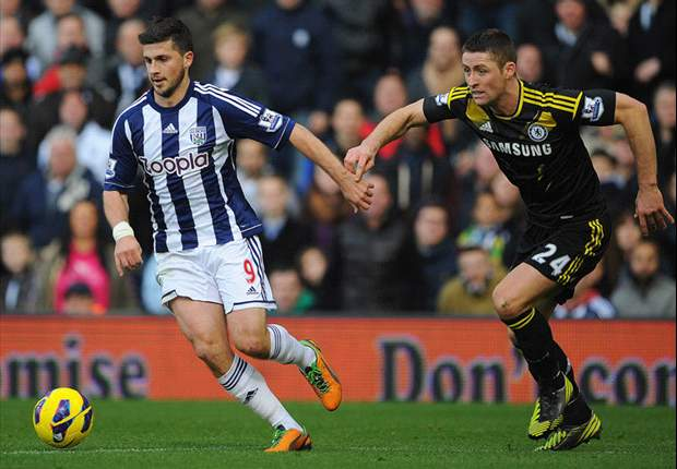 West Brom 2-1 Chelsea: Long & Odemwingie strike as Blues slip up in title chase