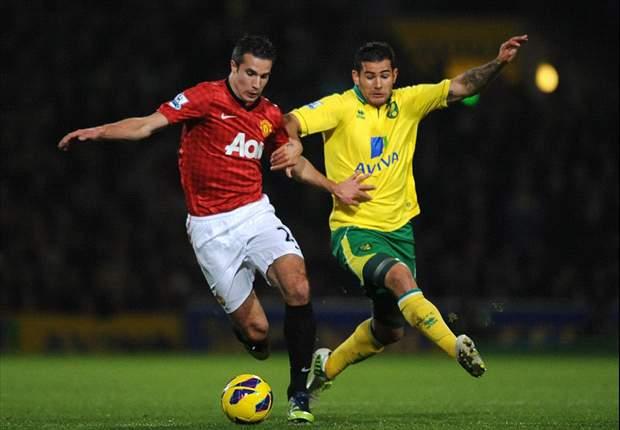 United blundert tegen Norwich City