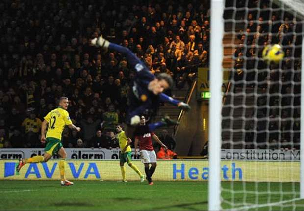 Gol Anthony Pilkington Bungkam Manchester United