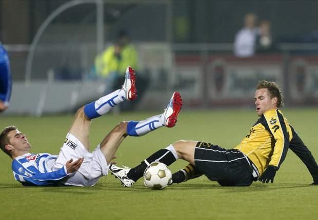 Zwolle deelt klap uit aan NAC
