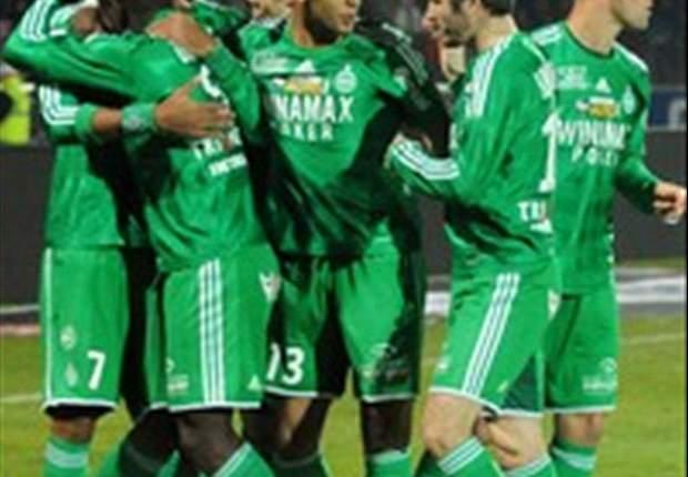 REVIEW Ligue 1 Prancis: St Etienne Kudeta Posisi Empat, Nancy Tersungkur