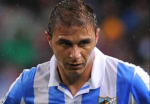 Joaquín vuelve a la titularidad en el Málaga-Valencia