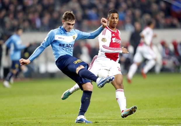 Vrije trap Boerrigter bezorgt Ajax drie punten