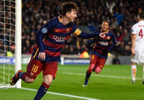 FT: Barcelona 6-1 Roma