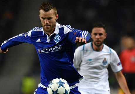 Yarmolenko: I'd prefer Everton to Barca
