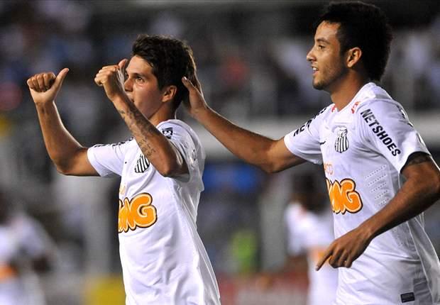 Santos 2 x 0 Figueirense: Peixe vence Figueirense na Vila Belmiro
