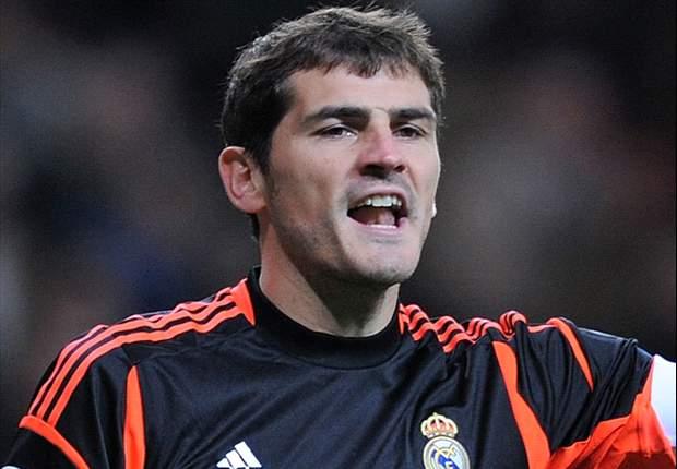 Iker Casillas vuelve a los entrenamientos del Real Madrid
