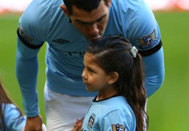 Carlos Tevez Bahagia Di Manchester City