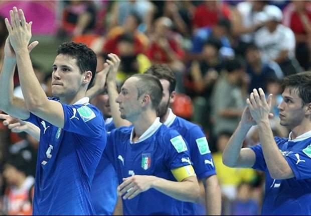 Piala Dunia Futsal: Italia Juara Tiga Lagi