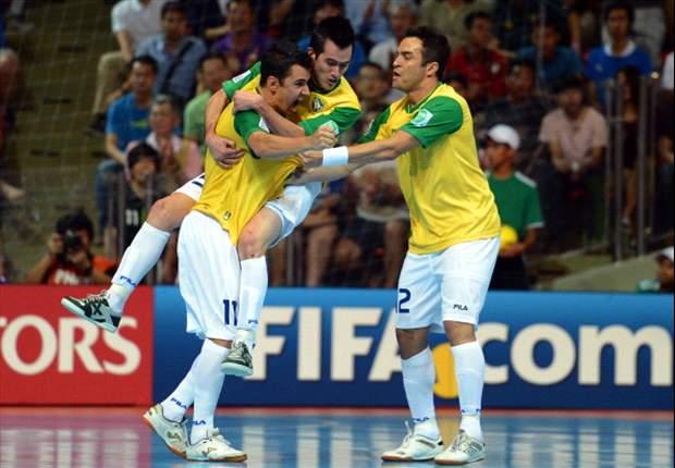 Brasil vence Espanha e é heptacampeão mundial de futsal