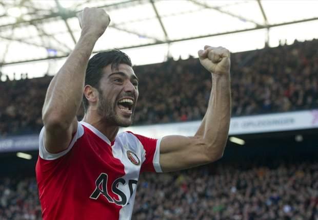 REVIEW Eredivisie Belanda: Graziano Pelle Bintang Kemenangan Feyenoord