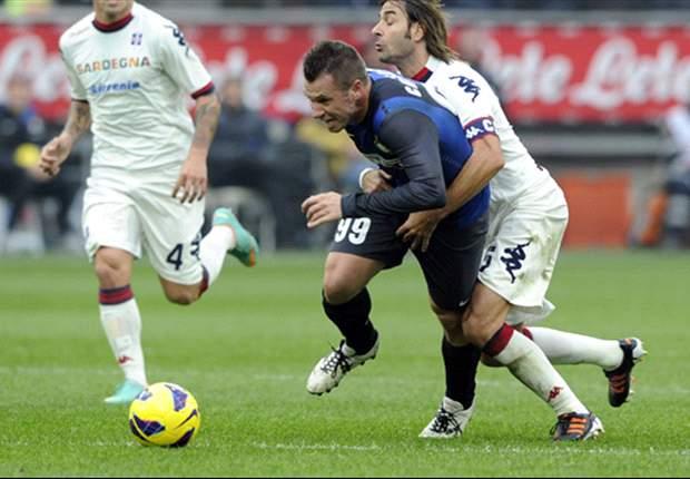 Inter de Milán 2-2 Cagliari: Los neroazurri no aprovechan el tropezón de la Juventus