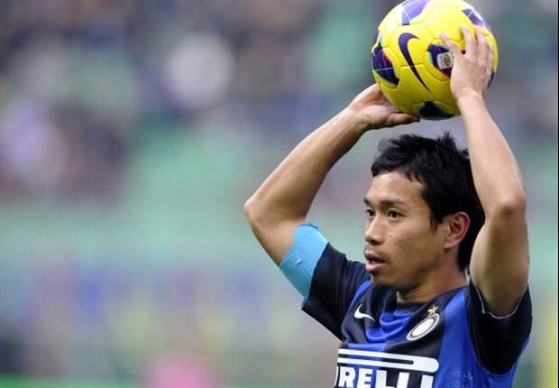 Nagatomo: Es un halago el interés del Real Madrid por mí