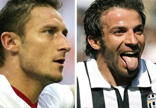 Del Piero Thanks Totti For Praise