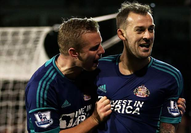Sunderland duo Fletcher & Cattermole out for rest of the season
