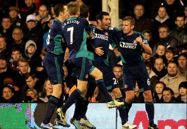 Tien man Fulham houden geen stand