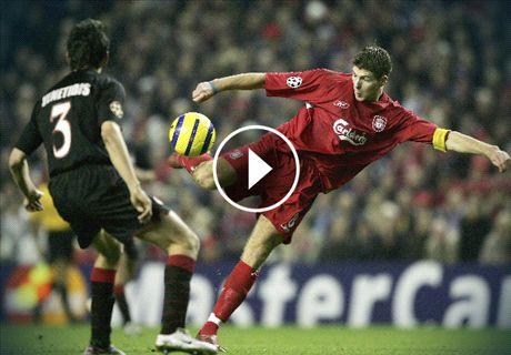 Les plus beaux buts de l'UEFA Champions League présentés par Nissan