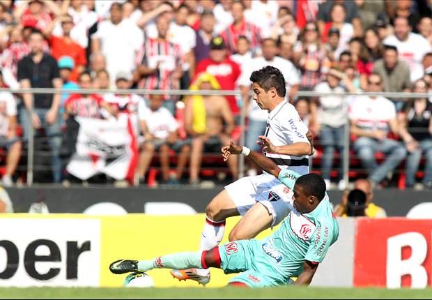 São Paulo 2 x 1 Náutico: Com estreia de Ganso, São Paulo é superior e vence de virada