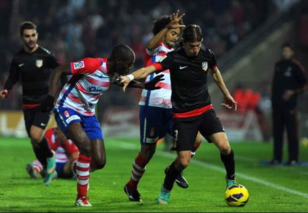 Atlético moeizaam langs Granada