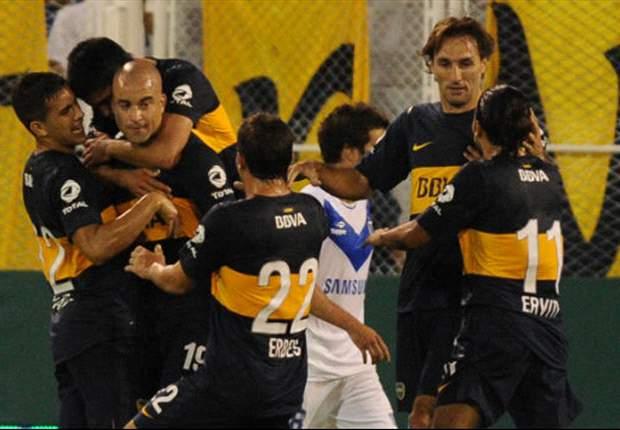 Un Boca efectivo pudo más que el puntero Vélez