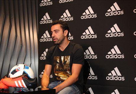 Xavi: Messi the best ever & improving