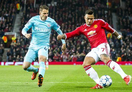 FT: Manchester United 0-0 PSV