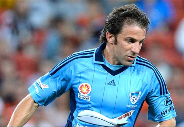Del Piero asks Sydney FC fans and players to keep the faith