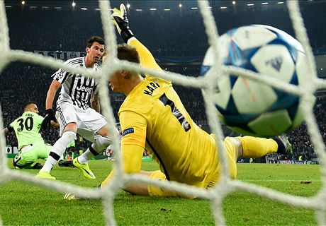 Mandzukic + Buffon: la Juve è agli ottavi