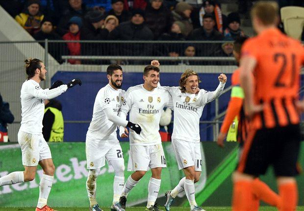 ไฮไลท์  Shakhtar Donetsk 3 - 4 Real Madrid