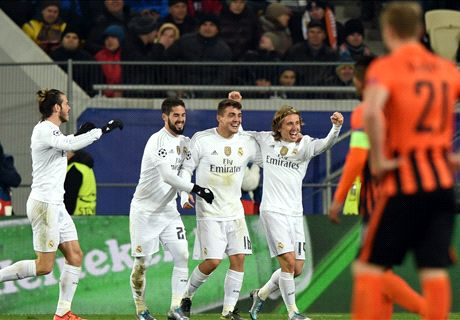 REPORT: Shakhtar 3-4 Real Madrid