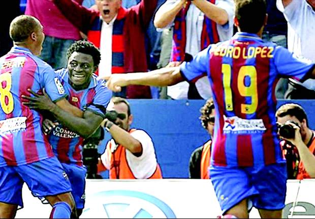 Nigerians Abroad: Martins strikes sixth La Liga goal as Ezekiel, the Uche brothers and John Utaka get on the scorers' sheet