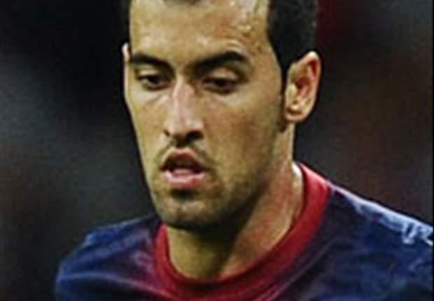 Sergio Busquets no piensa en perder la Liga