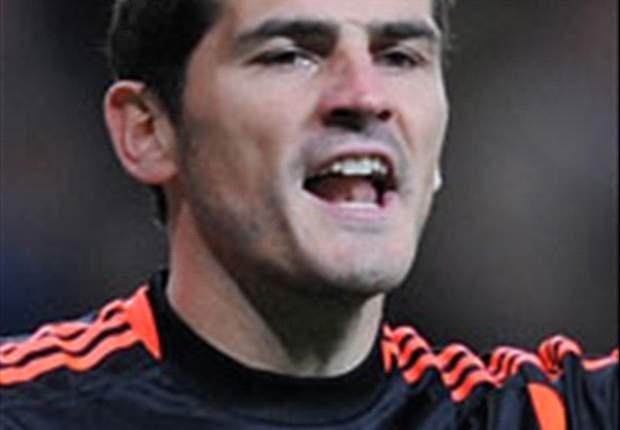 """Casillas: """"Firmo quedar a 25 puntos del Barça si ganamos la Champions"""""""