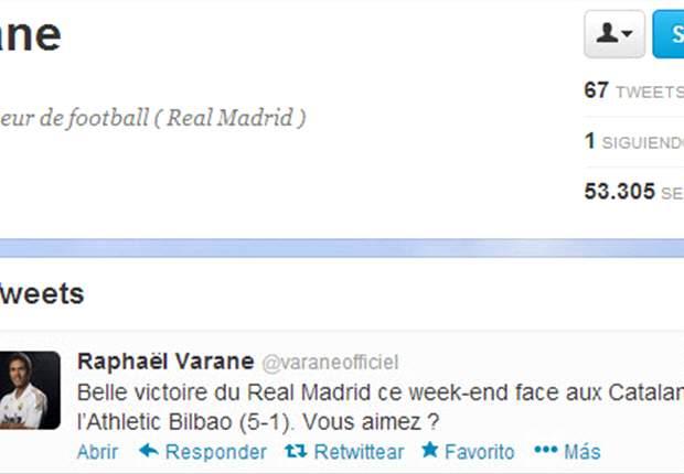 Raphael Varane llama catalanes a los jugadores del Athletic de Bilbao