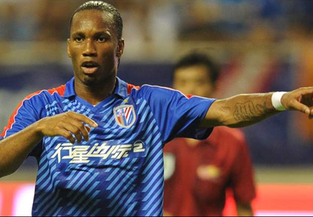 Drogba refused permission to leave Shanghai Shenhua on loan