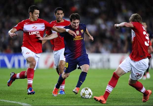 En Vivo: Spartak Moscow - Barcelona, seguí la Champions League en Goal.com
