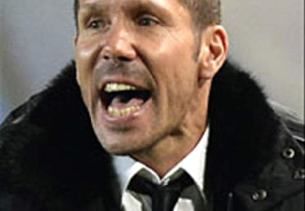 Atletico Madrid deserved more, says Simeone