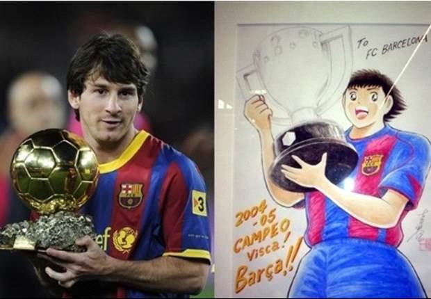 La historia de amor entre Messi, el Barça y la pelota