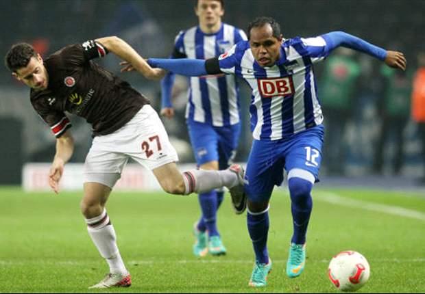 Ben Sahar erlöst die Hertha – knapper Sieg gegen St. Pauli