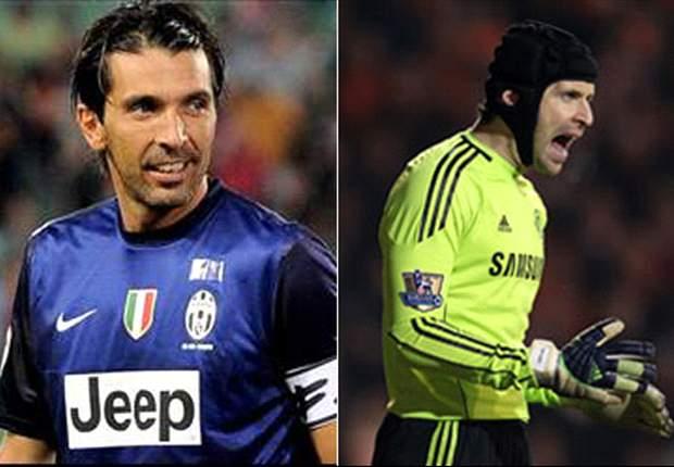 La Sfida nella Sfida - Buffon vs Cech: il portierone bianconero ha qualcosa in più del collega 'Blue'...