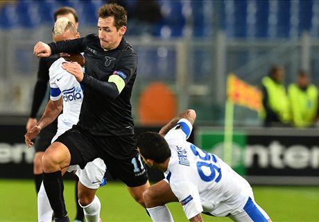 Lazio-Dnipro LIVE! 2-1, Parolo