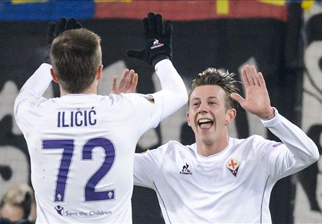 Fiorentina share spoils in Basel