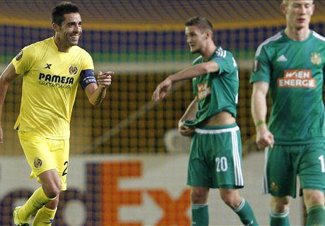 REPORT: Villarreal 1-0 Rapid Vienna