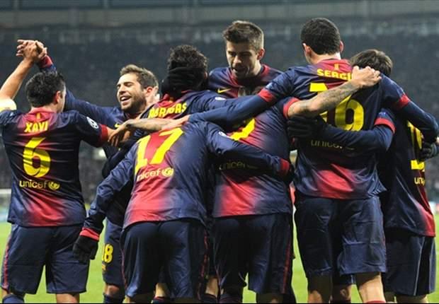 LdC - Le Barça n'a pas tremblé