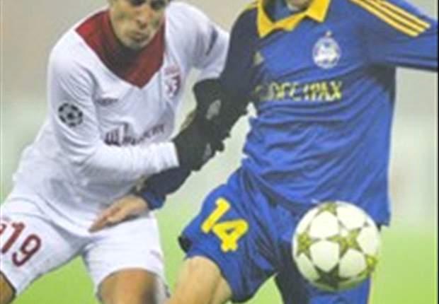 BATE Baryssau vergibt Chance auf Achtelfinale - 0:2 gegen Lille