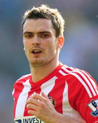 Adam Johnson, England International